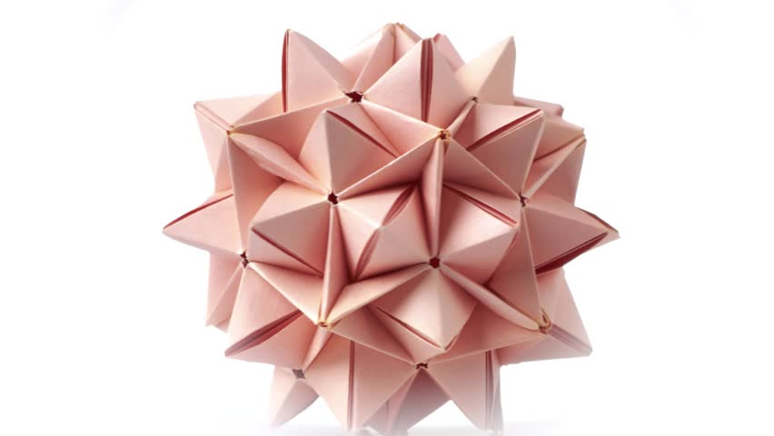 Modular Origami - spiky balls and stellated polyhedra models ... | 480x852