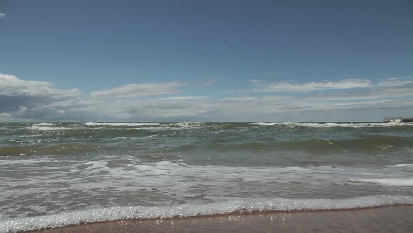 Sea and waves | Shutterstock HD Video #1014698684