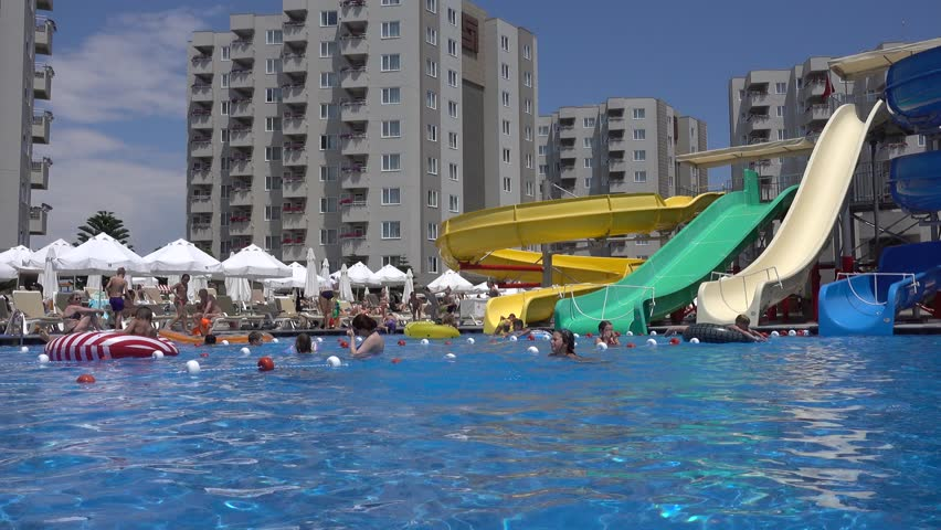 Slides residential water swimming pool All Swimming