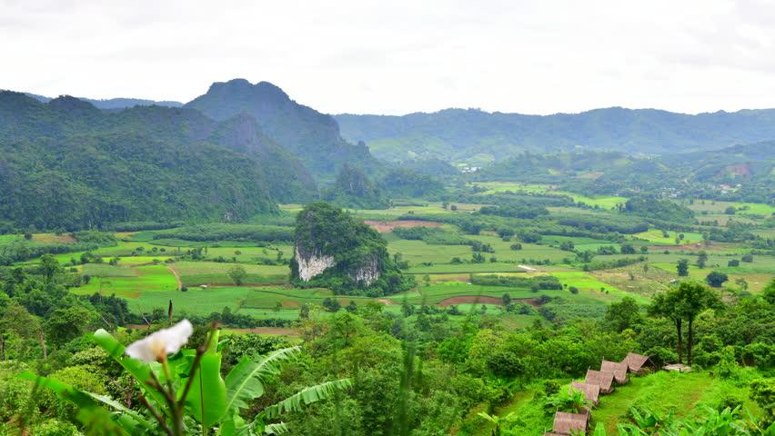 4K time lapse video of Phu langka national park, Thailand.  | Shutterstock HD Video #1014734822