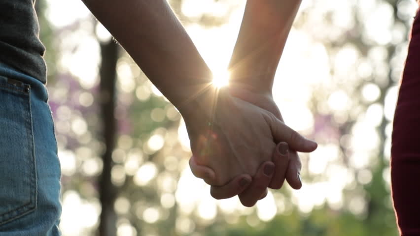 Disjoining hands held together, speration, splitting letting go of connection #1014803630