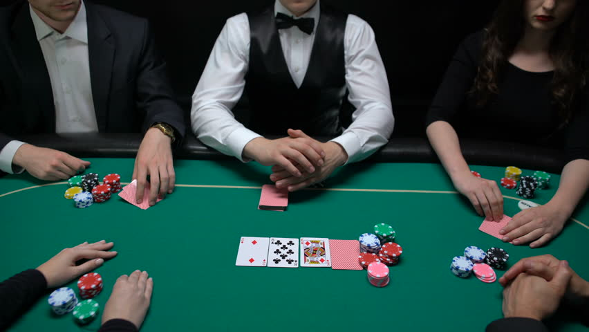 Poker Players Betting and Croupier Stock Footage Video (100% Royalty-free)  1014833989 | Shutterstock