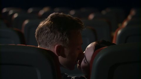 Kissing In Movie Theater Stock Video Footage 4k And Hd Video Clips Shutterstock