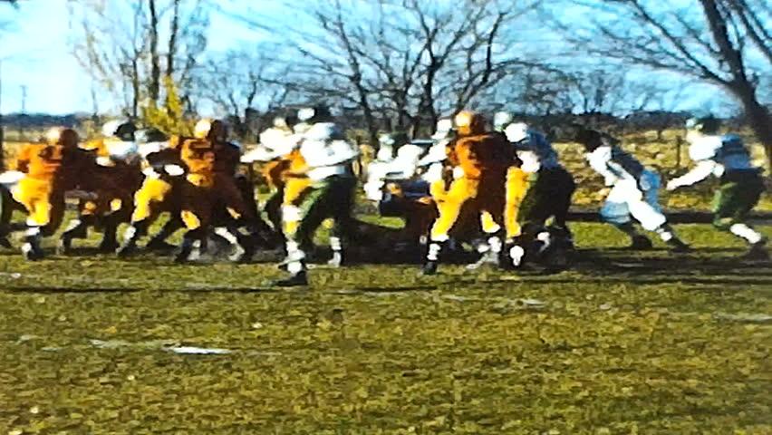 Vintage High School Football  8mm Film