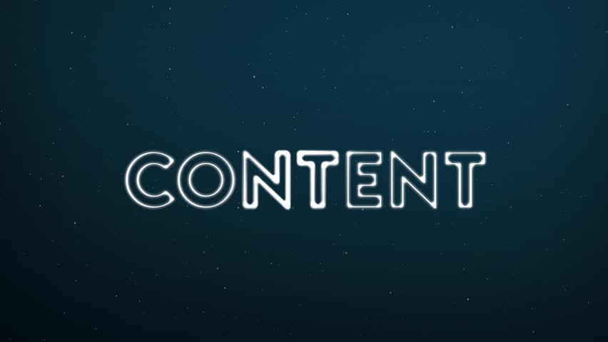 Abstract moving connection structure background with text CONTENT