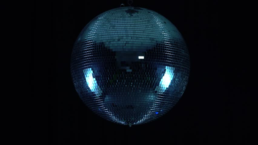 Party lights disco ball on black background   Shutterstock HD Video #1015198681