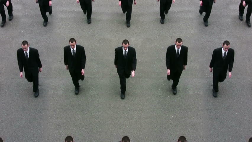 Business clones ready for world domination.