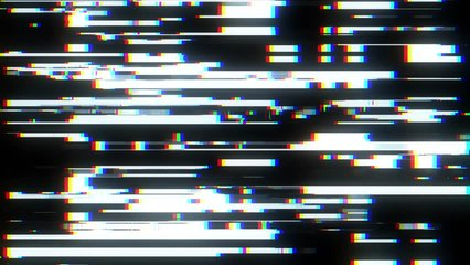 fast glitch interference screen background for logo animation new quality digital twitch technology colorful video footage