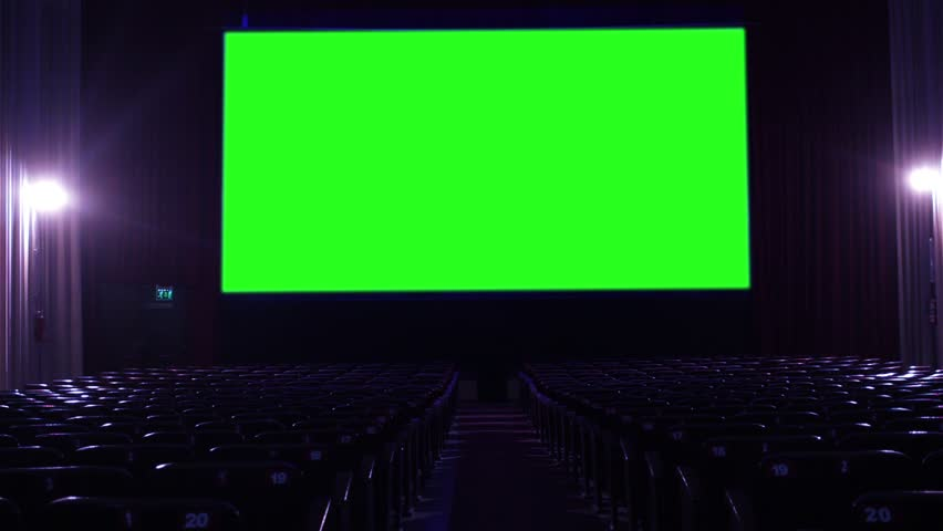 Empty Cinema Theater Hall With Stock Footage Video 100 Royalty Free 1015309258 Shutterstock