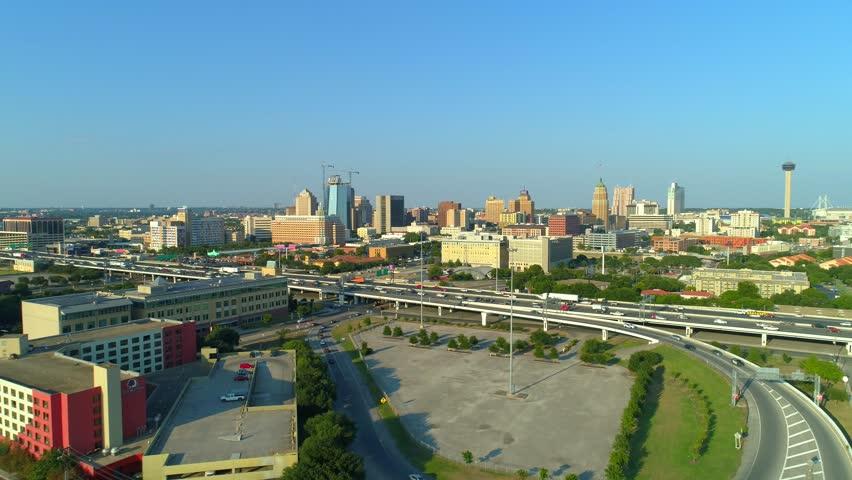 City of San Antonio Texas and highways