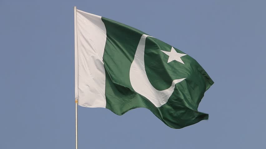 National Flag of Pakistan | Shutterstock HD Video #1015425280