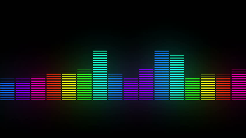 color music equalizer abstract #1015483546