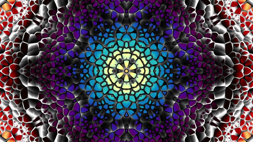 Transforming round mandala pattern. Seamless loop footage. Emboss geometric lattice mandala in arabic style. Islamic geometric arabesque pattern. | Shutterstock HD Video #1015484704