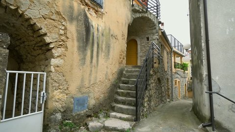 Summer, sunshine view of the Croatian old town - Istria region - Mediterranean sea-Europe.