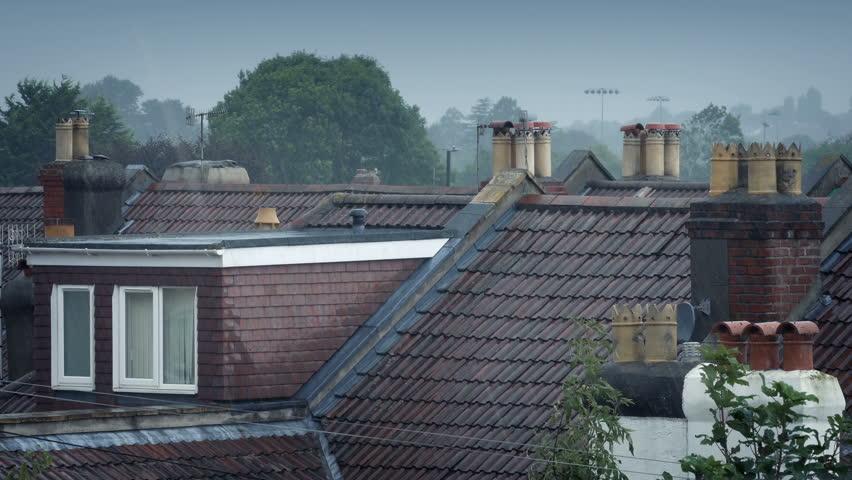 Rain On House Roofs