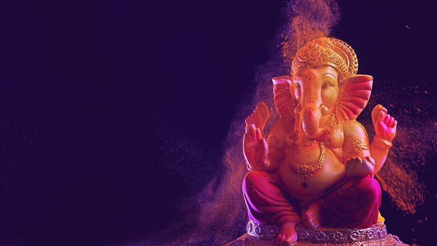 Lord Ganesha , Ganesha Festival Royalty-Free Stock Footage #1015815226