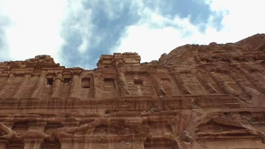The Time lapse video of Petra ( World Heritage Sites ) in Jordan   Shutterstock HD Video #1015833442