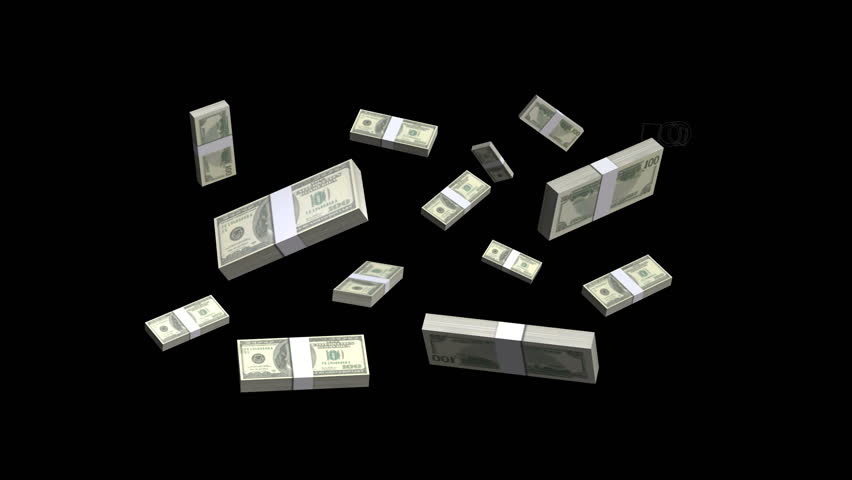 Tumbling animated stacks of cash. | Shutterstock HD Video #1015911664