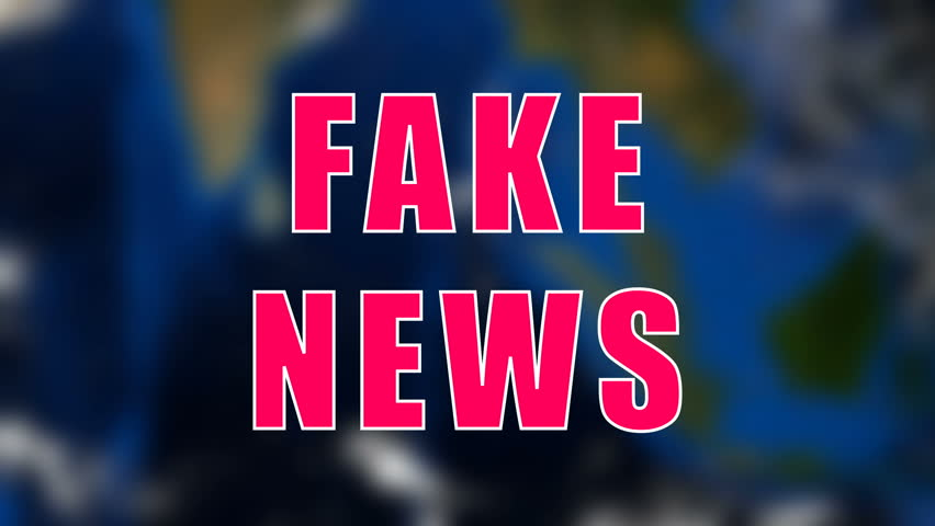 Letters of Fake news text on background with rotating earth, 3d rendering background, computer generating for news | Shutterstock HD Video #1016010655