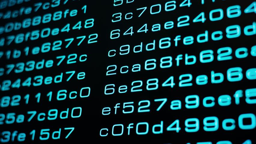 Computer machine learning algorithm code, big data algorithmic transfer 4k   Shutterstock HD Video #1016019160