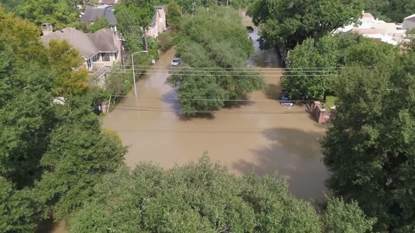 This video is about an aerial of a flooded neighborhood in Houston after Hurricane Harvey. This video was filmed in 4k for best image quality.