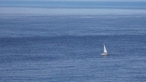 A peaceful coastline in Cornwall