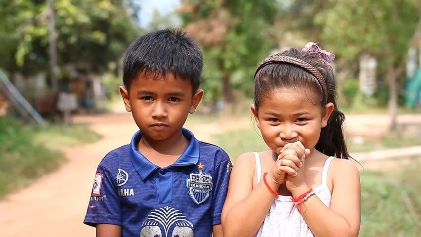 Siem Reap. Cambodia - Circa Stock Footage Video (100%