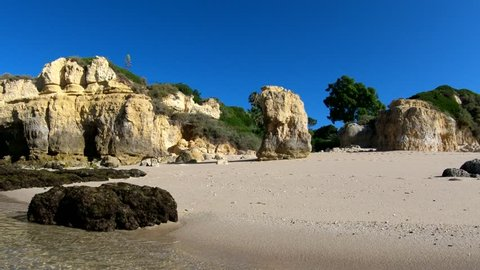 Algarve seashore, south of Portugal