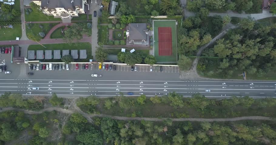 Aerial vertical shot. 4k 4096 x 2160 pixels | Shutterstock HD Video #1016360806