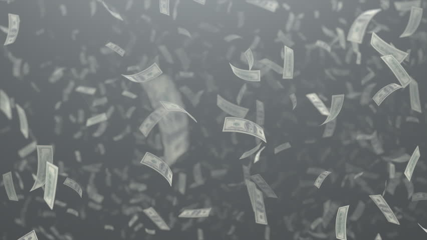 Money flow US dollars 4k animation | Shutterstock HD Video #1016509795