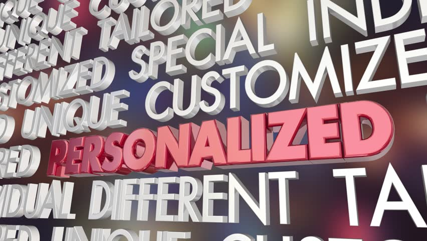 Personalized Custom Unique Special Word Collage 3d Animation   Shutterstock HD Video #1016538472