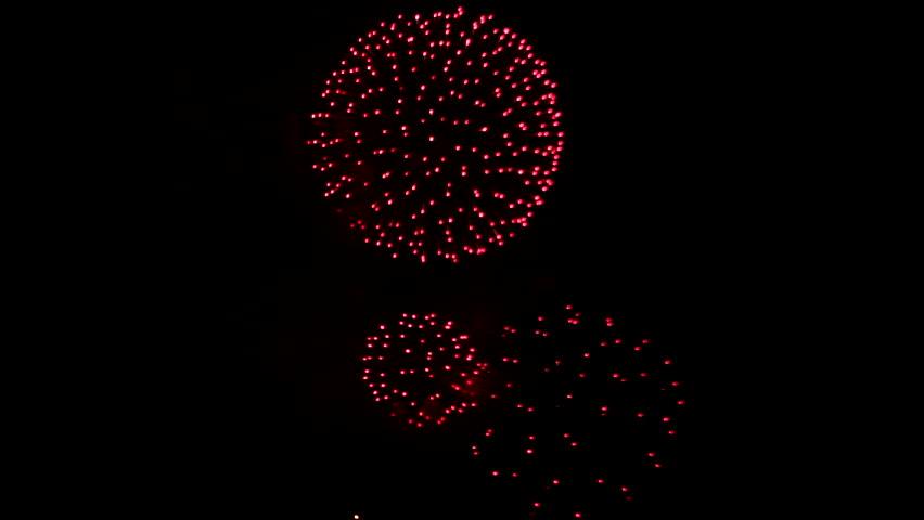 New London, Connecticut Sailfest Fireworks, City Pier