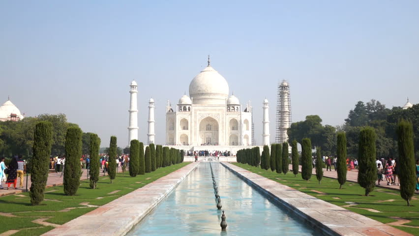 Taj Mahal, The Great Monument in Agra, India | Shutterstock HD Video #1016699896