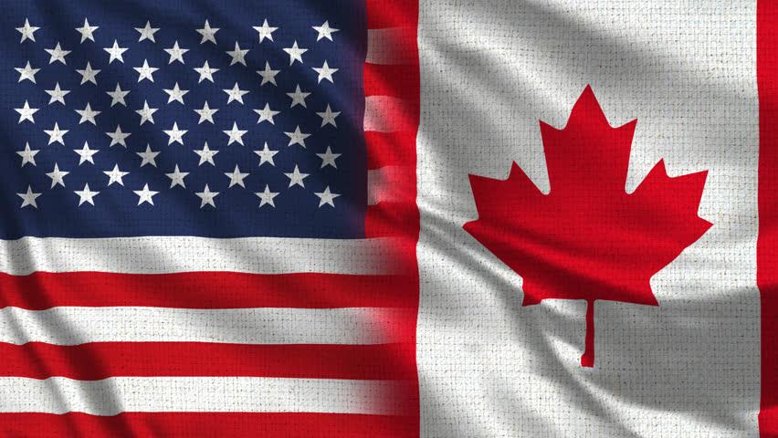 картинки флага сша и канады относительно недорогое