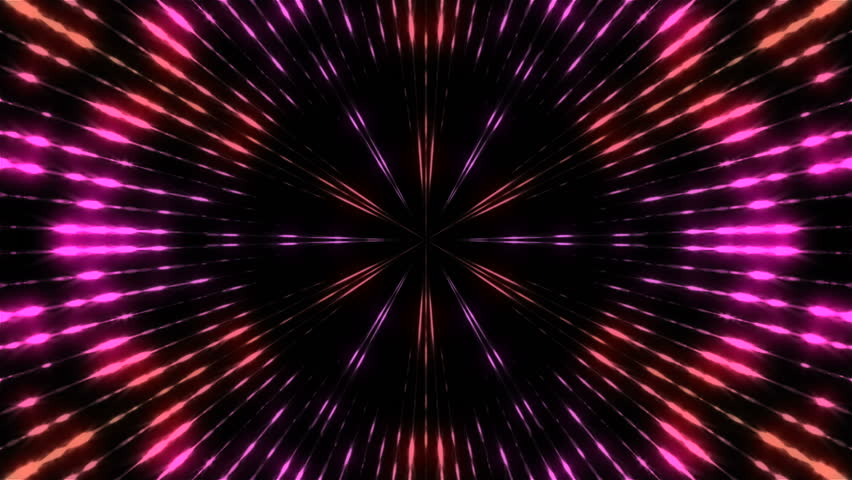 Kaleidoscope of lights, computer generated modern abstract background, 3d rendering | Shutterstock HD Video #1016755510