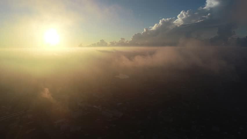 Drone camera view Bangkok    Shutterstock HD Video #1016838901