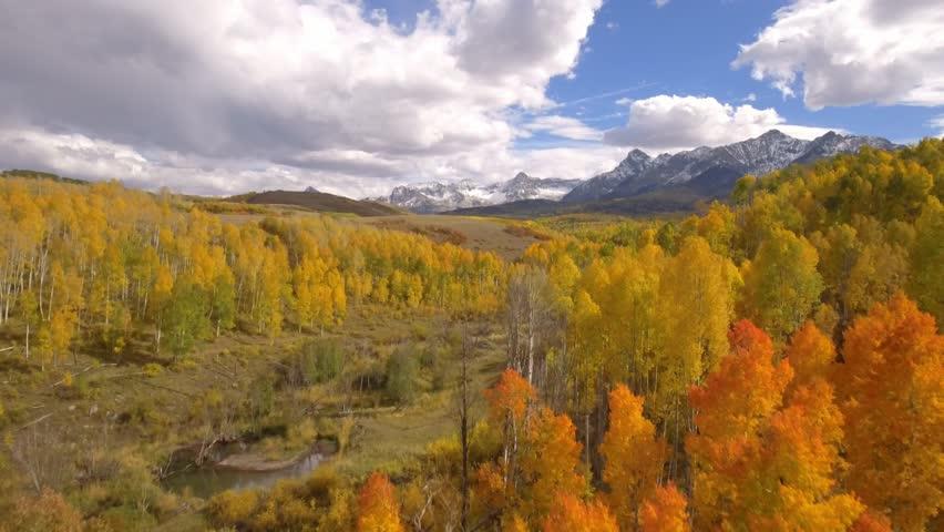 Aspen fall colors in Colorado