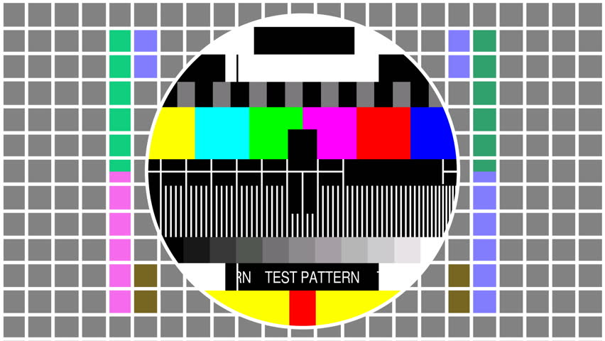 Television screen color test pattern - Seamless loop | Shutterstock HD Video #1016939161