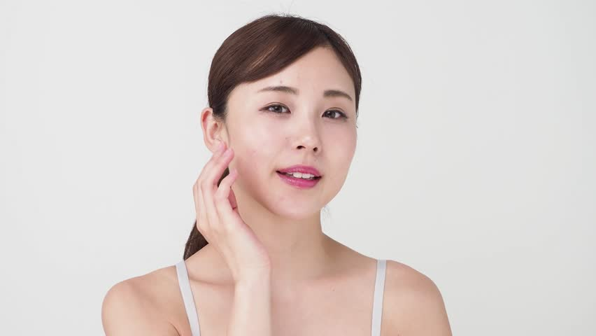 Attractive Asian Woman Skincare Video Stock Footage Video 100 Royalty Free 1016970829 Shutterstock