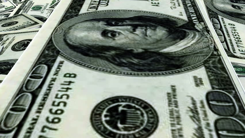 Income growth, a lot of dollars, an increase in euros, an increase in incomes. Financial crisis. Financial markets. Hallucination, mind-bender, mesmerism and hypnosism. Royalty-Free Stock Footage #1016984491