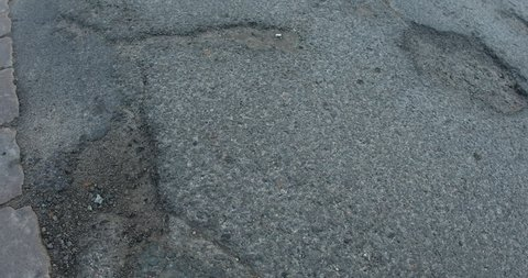 Damaged Road Texture