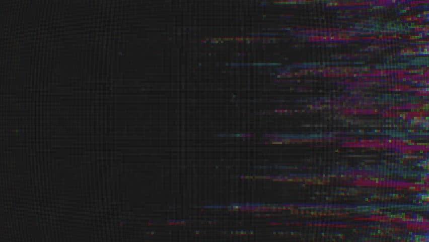 Unique Design Abstract Digital Animation Pixel Noise Glitch Error Video Damage | Shutterstock HD Video #1017095506