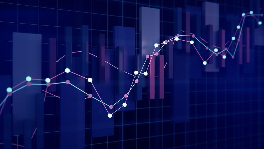 4K Financial Growth Concept. Seamless looping | Shutterstock HD Video #1017099679