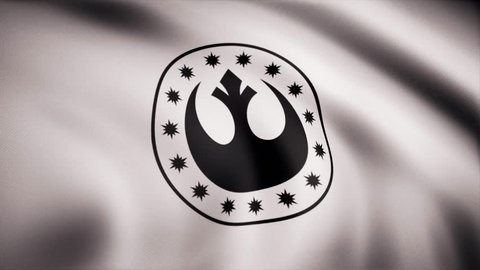 Star Wars New Republic Flag Stock Footage Video 100 Royalty Free 1017829369 Shutterstock