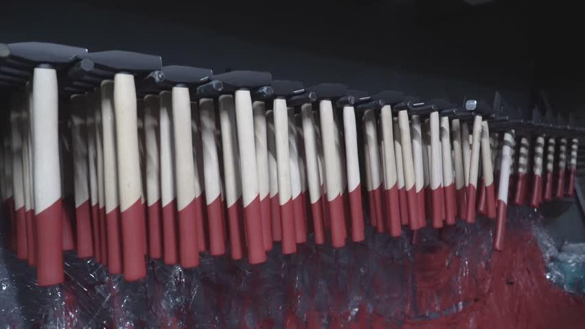 Metal processing plant 4k   Shutterstock HD Video #1017186319