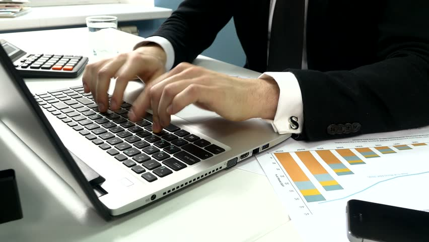 Typing On a Laptop Computer, Stock Footage Video (100% Royalty-free) 10174124   Shutterstock
