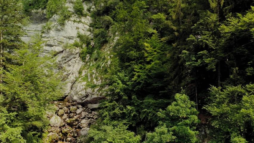 Beautiful Savica waterfall, Slovenia | Shutterstock HD Video #1017432232