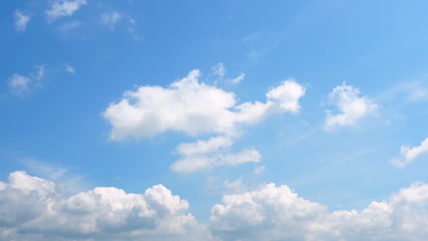 The clear sky with a cloud | Shutterstock HD Video #1017461725