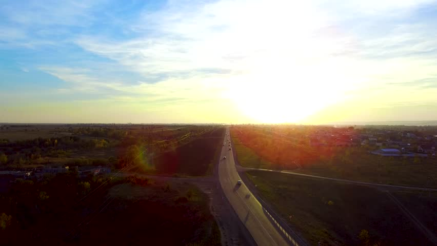 The road goes to the sun   Shutterstock HD Video #1017661942