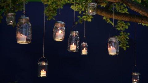 Mason Jar String Lights Stock Video Footage 4k And Hd Video Clips Shutterstock